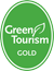 Green Tourism Gold award logo