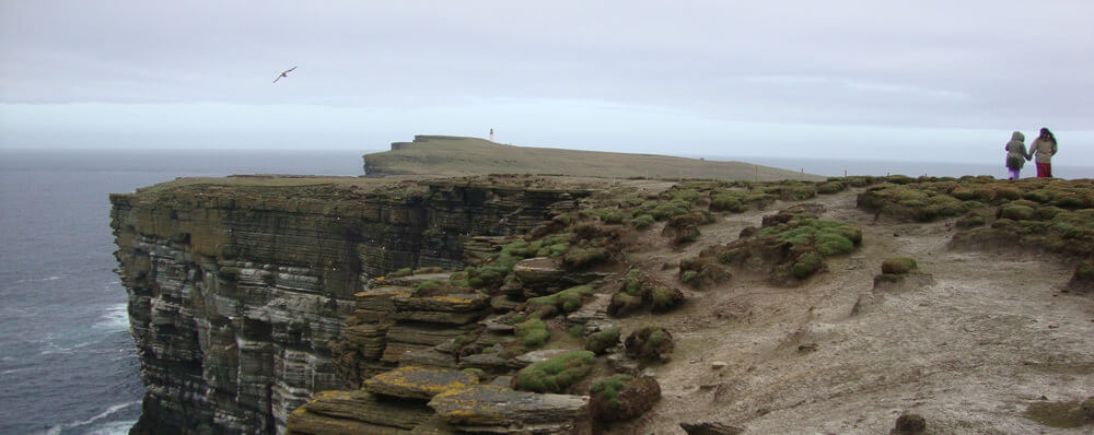 Walk on the cliffs, Orkney,Northern Isles