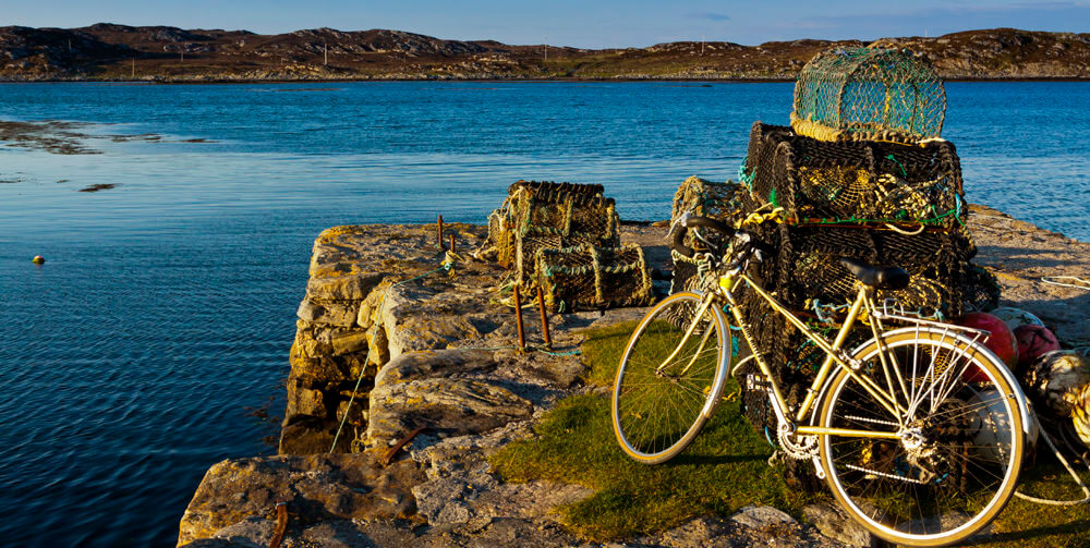 bike on Tiree