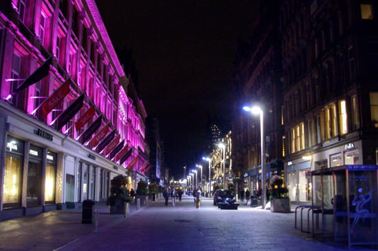 city break in glasgow