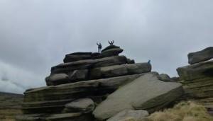 Rocks above Edale