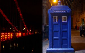 Police box : City break in Glasgow