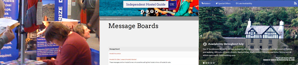 advertise your hostel with Independent Hostels UK