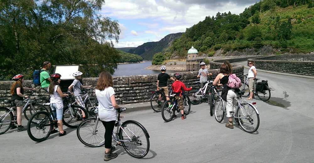 cambrian valley elan valley cycle ride