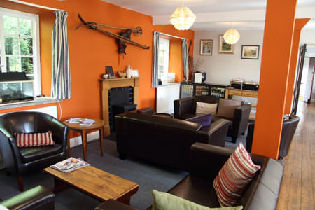 Elterwater Hostel in the Langdale Valley