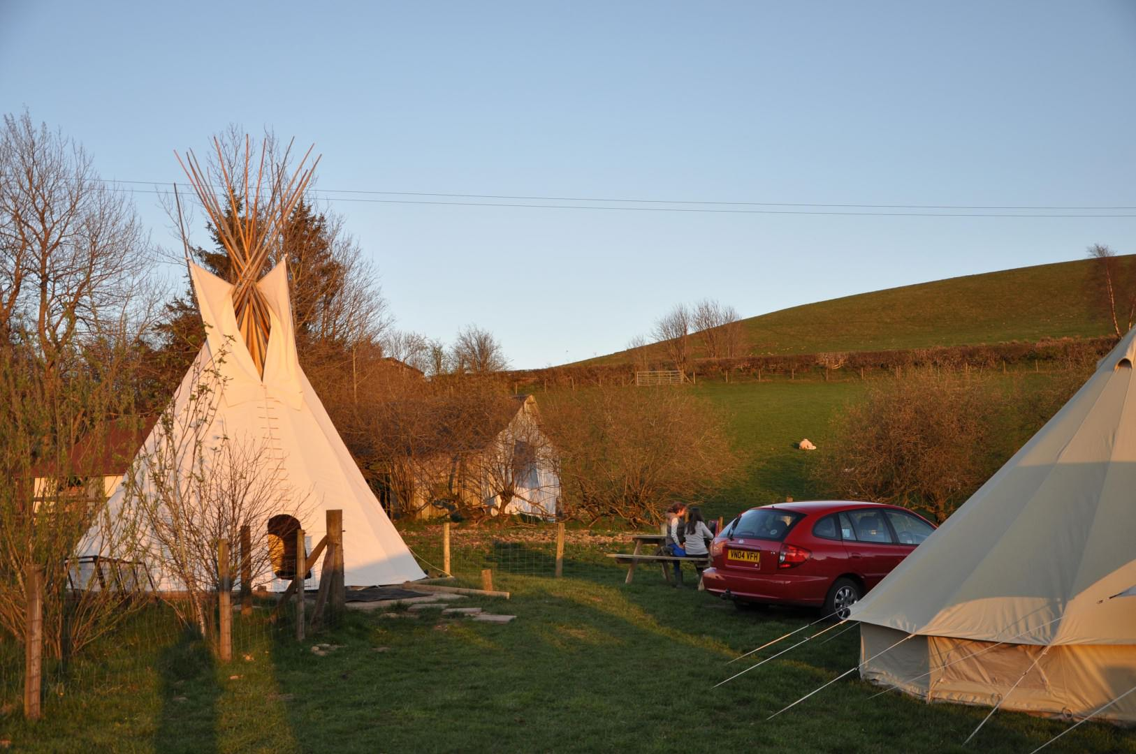 Mid Wales Bunkhouse Tipi