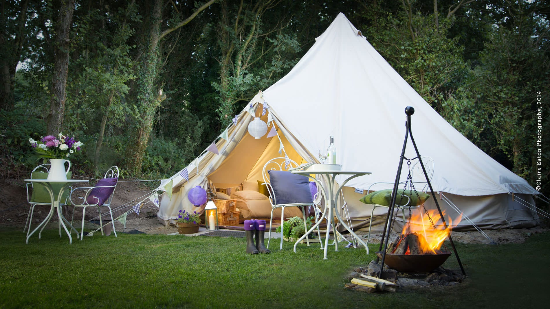 20% discount at Warren Farm Glamping this weekend.