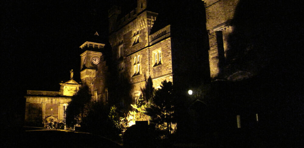 ghost hunting at Craig Y Nos castle