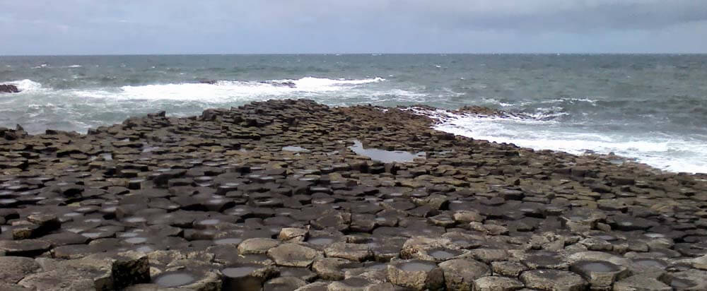 Backpacking along the Giants Causeway Coastal Path