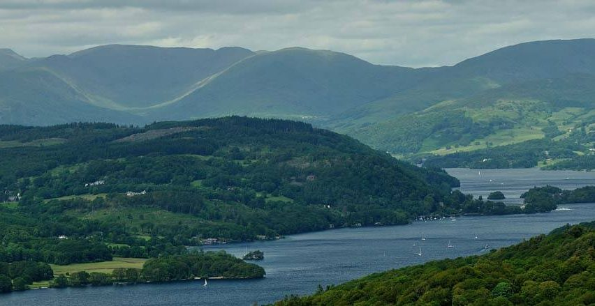 Windermere from Gummer's How by Kendal