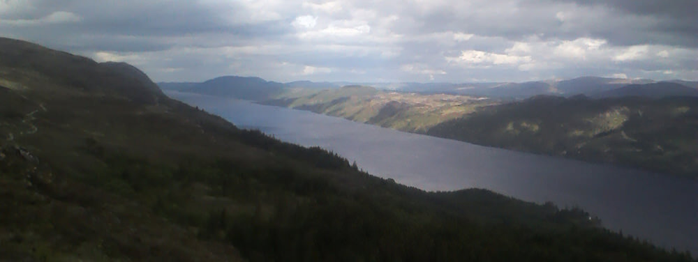 Loch View on the way to Fort Augustus