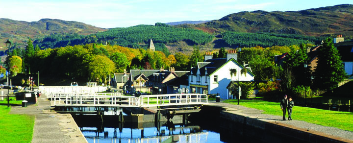 Caledonian Canel, Fort Augustus to Laggan