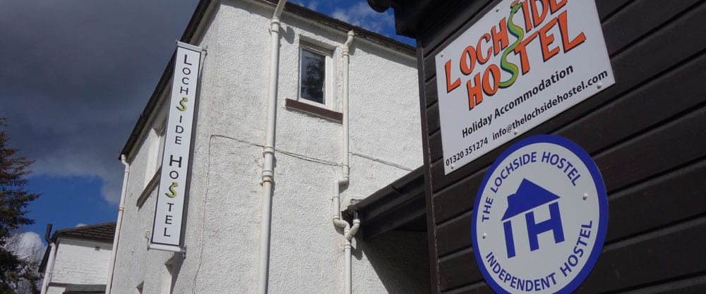 lochside hostel on the great glen way