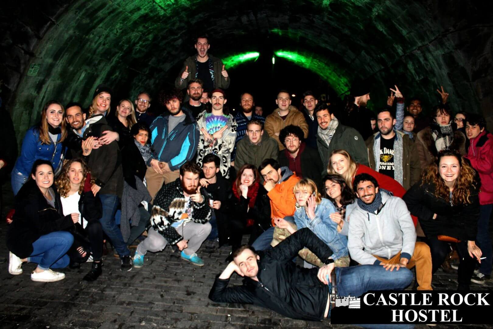 pub crawl at castle rock hostel