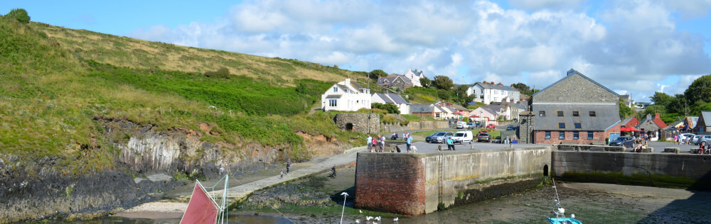 Porthgain on our self catering Pembrokeshire holiday