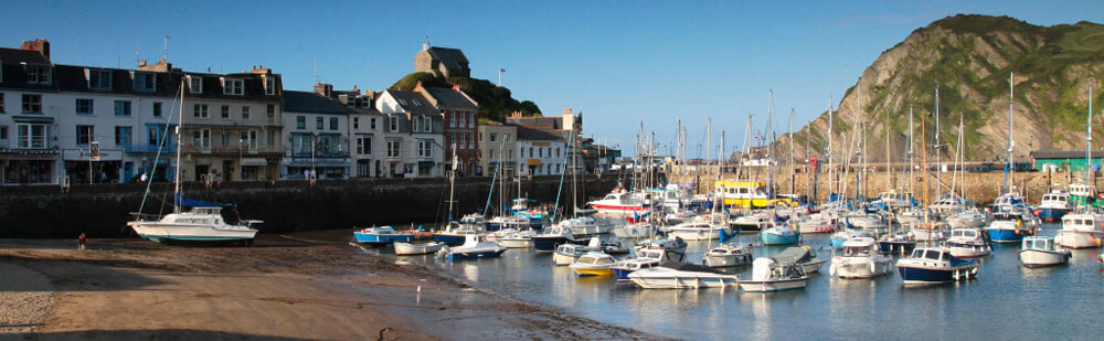 Ilfracombe Harbour by Ocean Backpackers