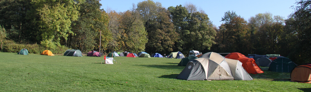 Accommodation for School Groups camping at Thornbridge