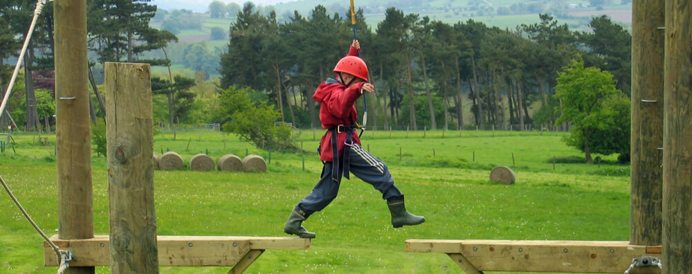 Accommodation for School Groups at Thornbridge Outdoors in Derbyshire
