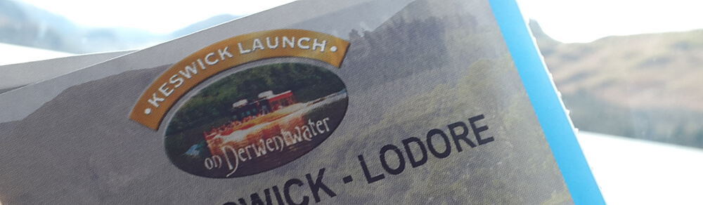keswick launch ticket