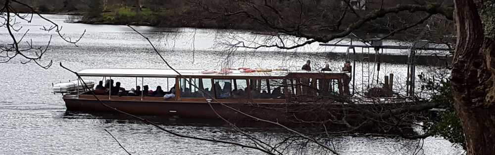 Keswick Launch on Derwentwater