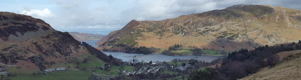 view of Glenridding nearly there