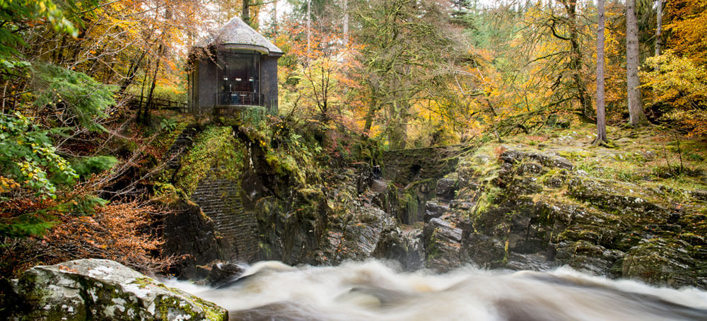 the Hermitage near Dunkeld