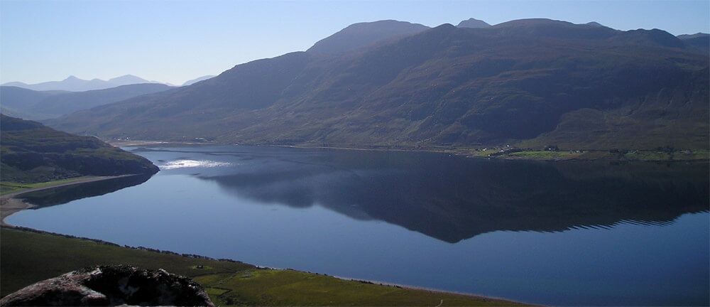 Little Loch Broom by Badrallach Bothy