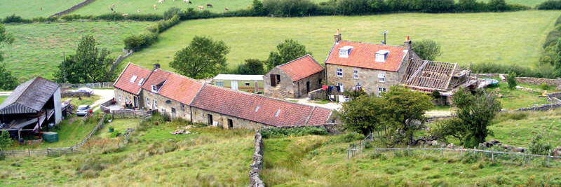 Bank House Farm accommodation close to the Coast to Coast Path