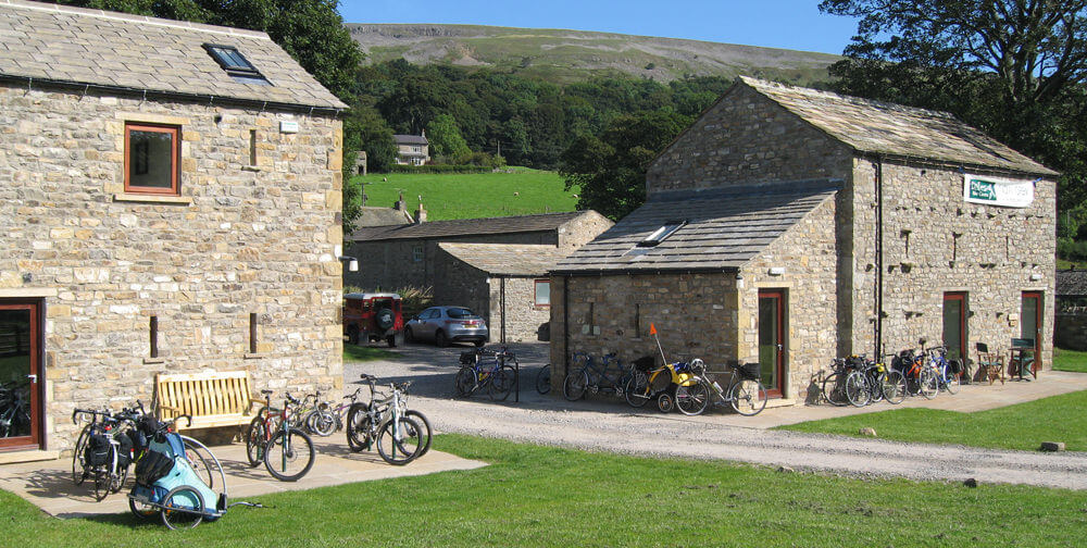 Dales Bike Centre accommodation, Fremington on the Coast to Coast