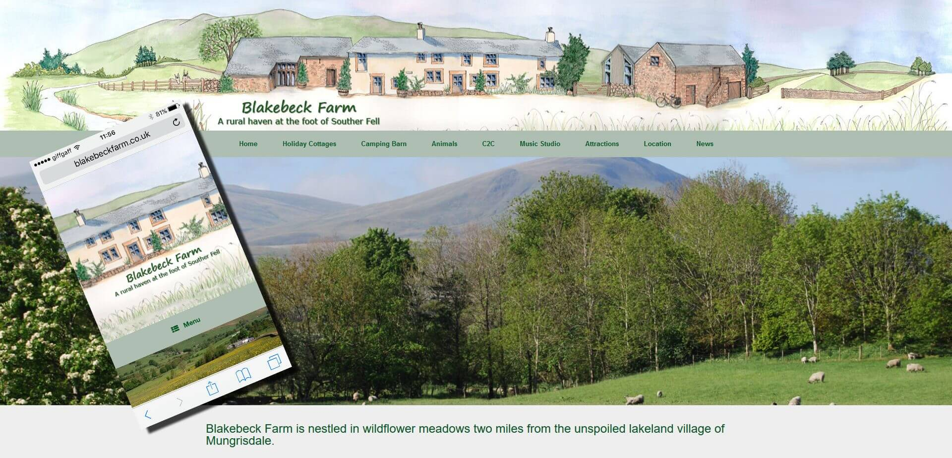 blakebeck farm website
