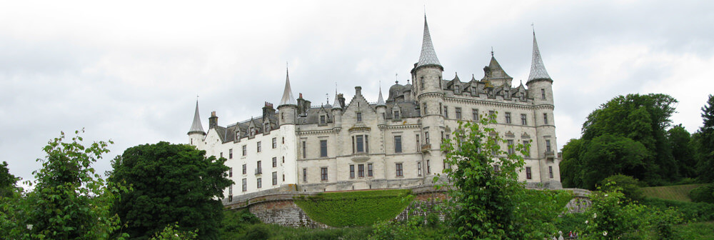Dunrobin Castle seat of the Clan Sutherland