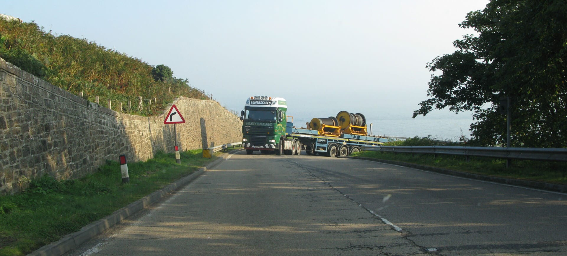 North Coast 500 Lorries on the route