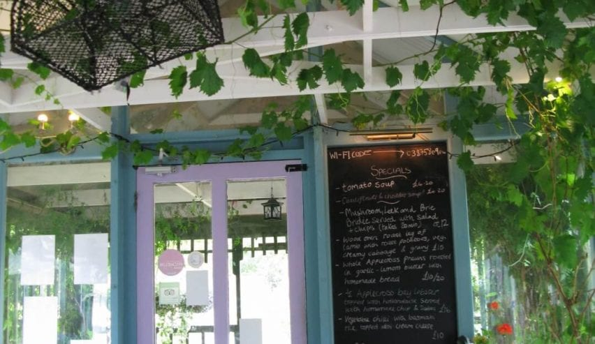 applecross house cafe and walled garden