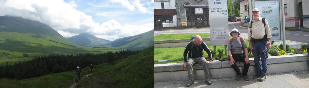 west highland way Day 6 and the end of the walk