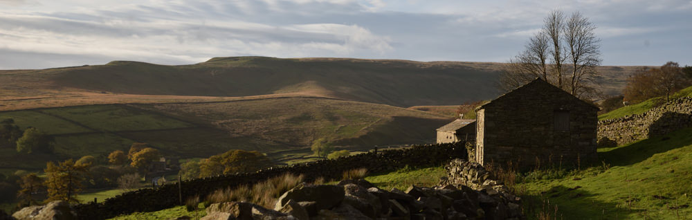 Breath taking walks close to Christmas accommodation at Hardraw Bunkhouse