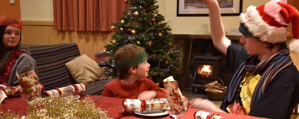 Christmas accommodation at Hardraw Bunkhouse