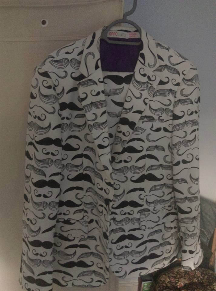 volunteers MOUSTACHE suit