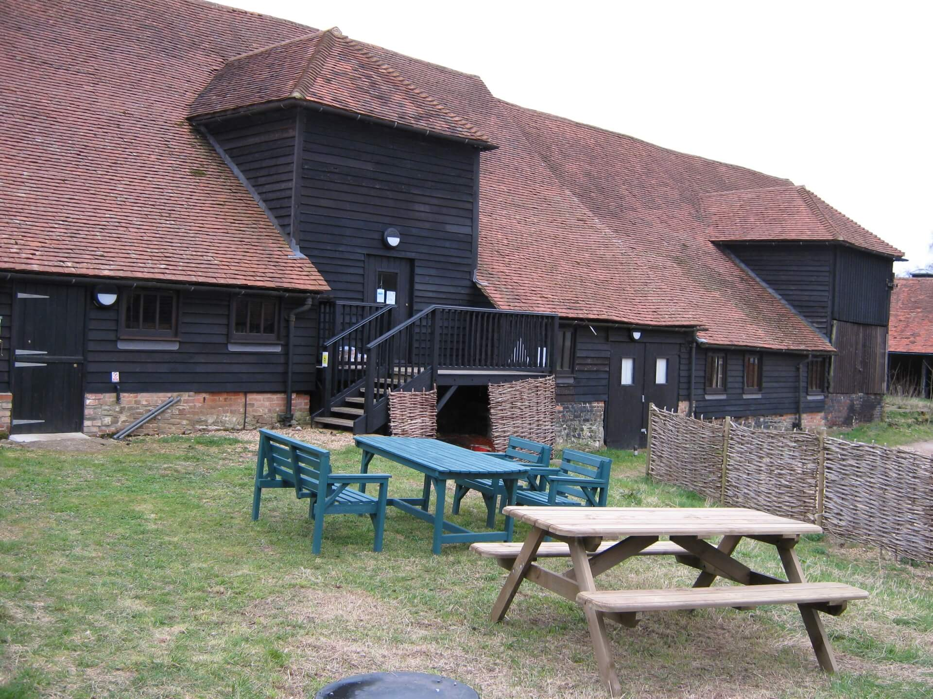 YHA Puttenham Camping Barn remains open.