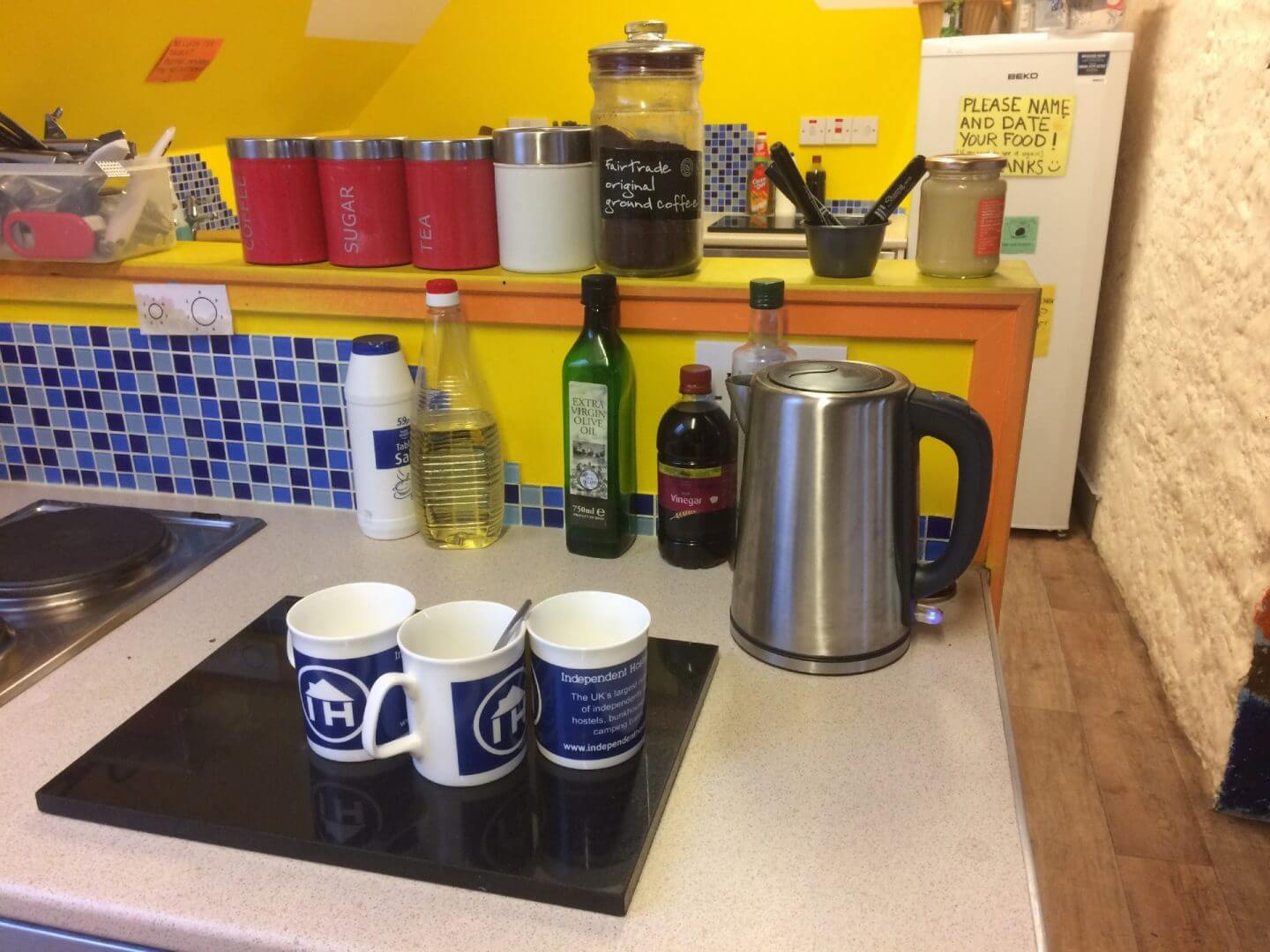 Mugs at Backpackers plus