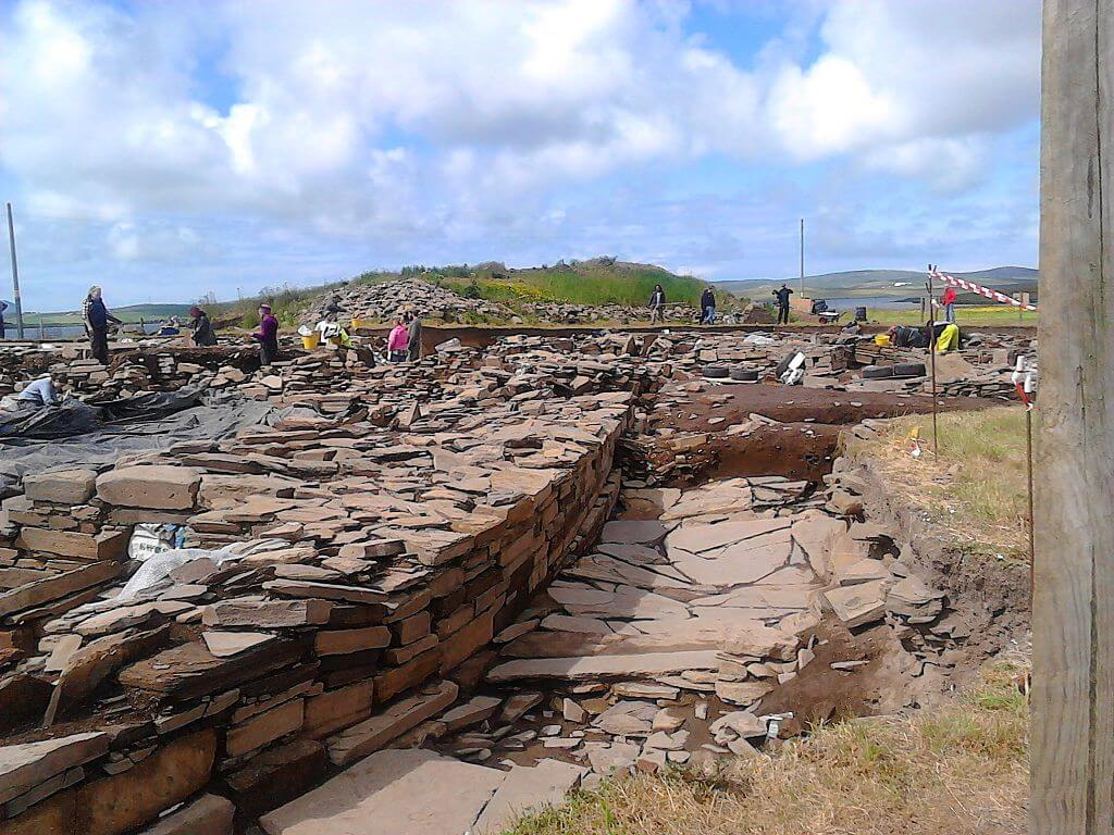 Ness of Brodgar soon opens to the public