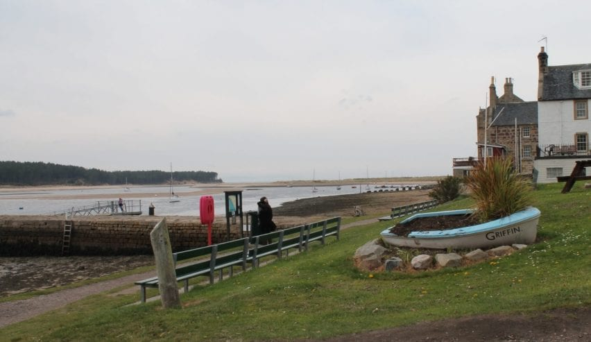 The Moray Coast by Findhorn Hostel