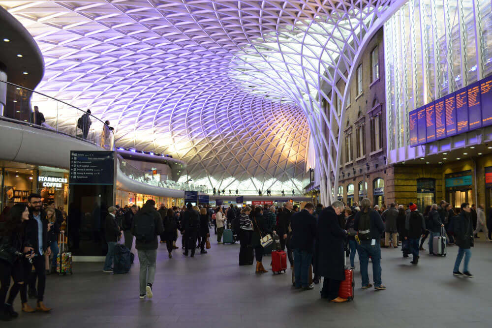 kings cross station near clink's london hostels