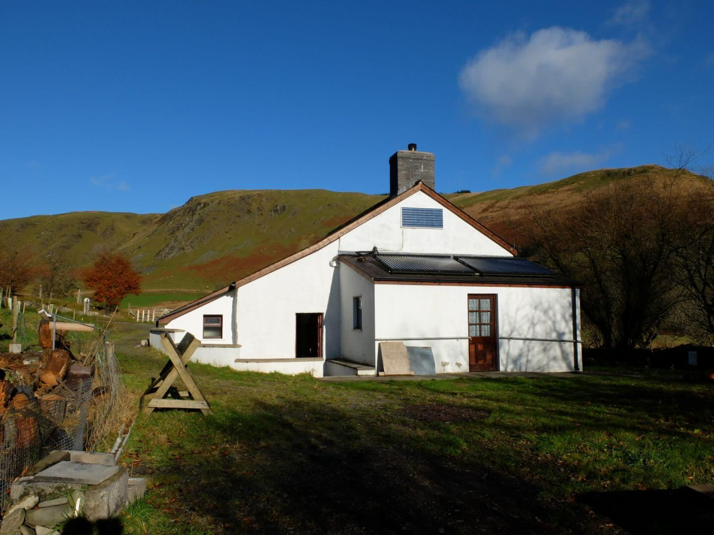 Green discount at Dolgoch Hostel