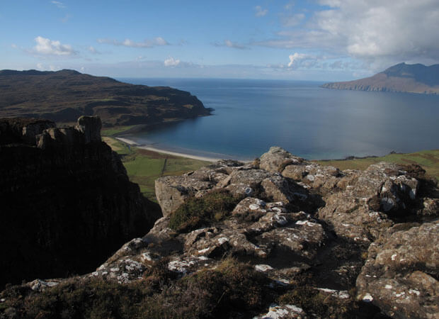 Isle of Eigg from Glebe Barn website