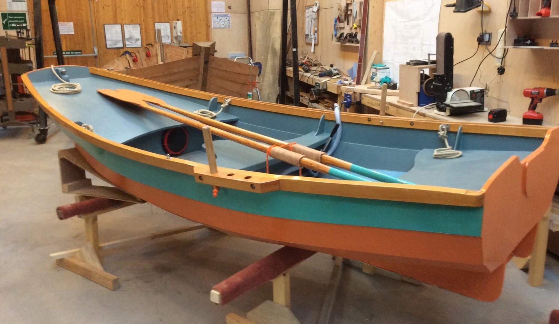 Build a boat at The Boatshed and stay at The Sail Loft