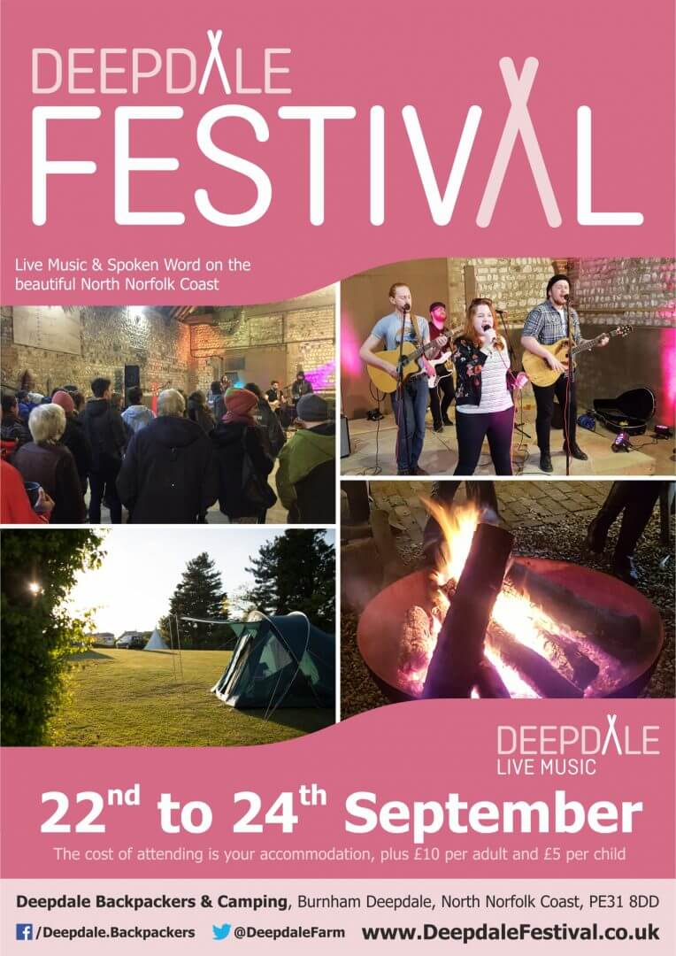 Deepdale Festival - Friday 22nd to Sunday 24th September 2017