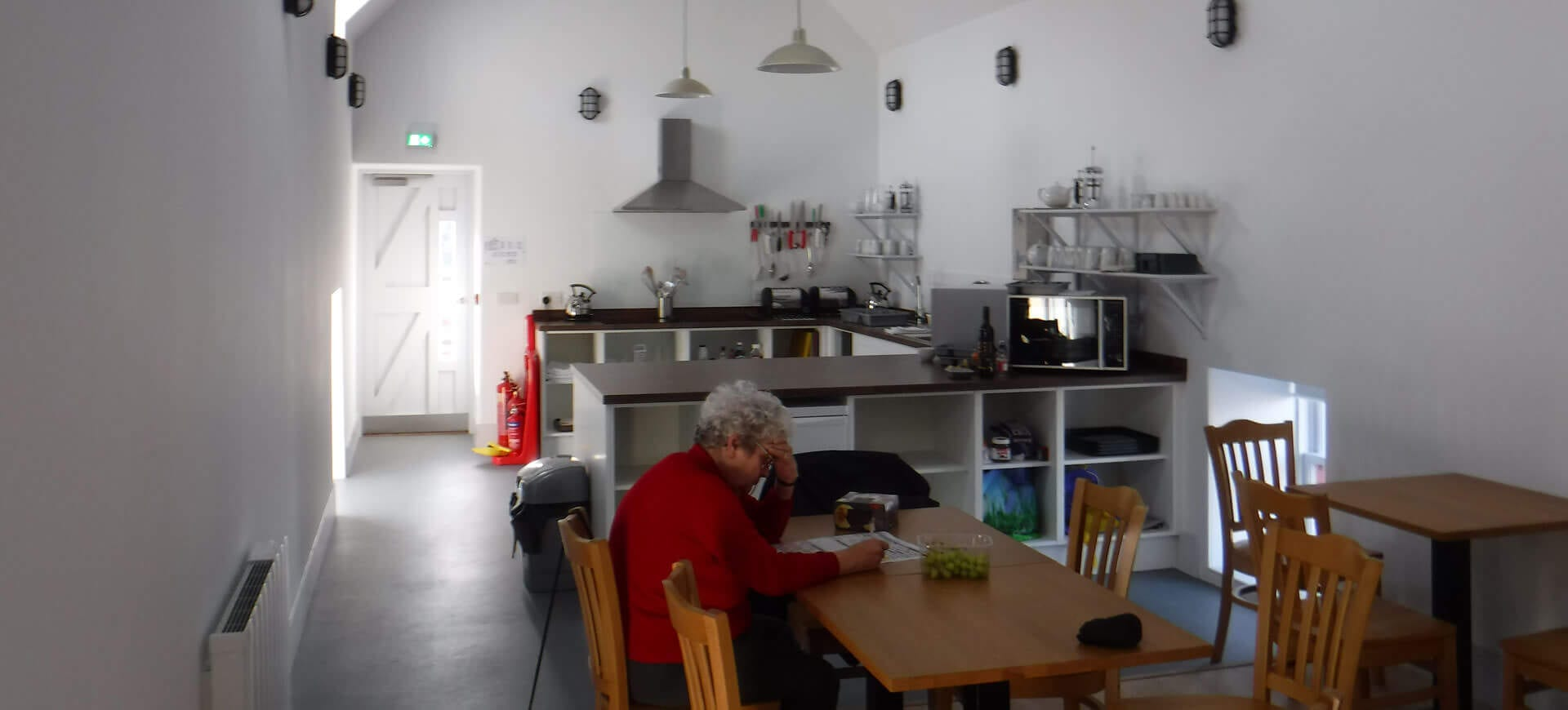 kitchen dining area at the sail loft portsoy