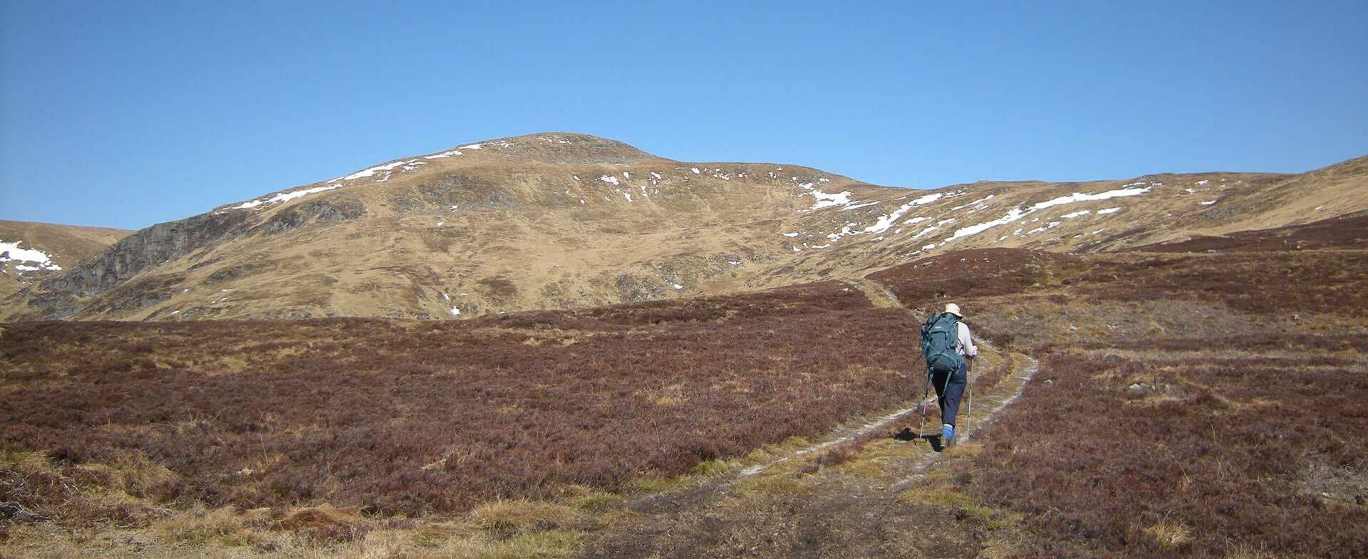 near Prosen hostel in Angus South Cairngorms