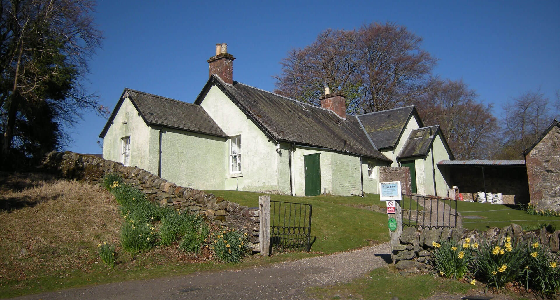 Prosen hostel in Angus South Cairngorms