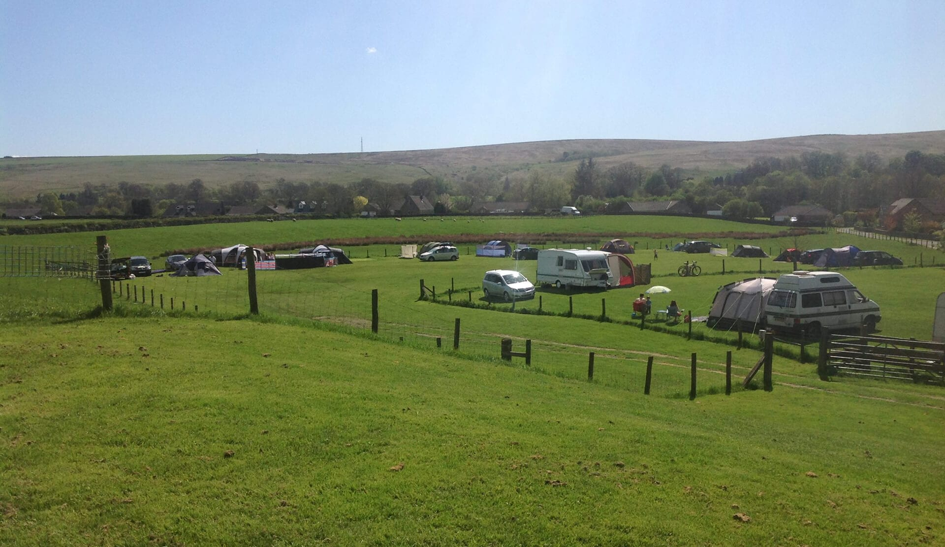 Camping and Bunkhouse in Northumberland